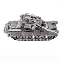 Model Kits 3D Metal Puzzle Toy Assembled Building Kits Military Model Tank Kids Toys Decoration Puzzle Metal Model Birthday Gift