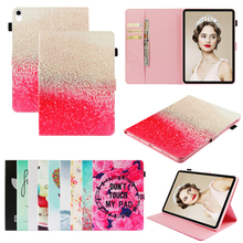 цены Luxury Leather Flip Wallet Case Cover Ebook Coque Tablet Universal Funda Capa for Apple iPad Mini 1 2 3 4 5(2019) 7.9 inch Cases