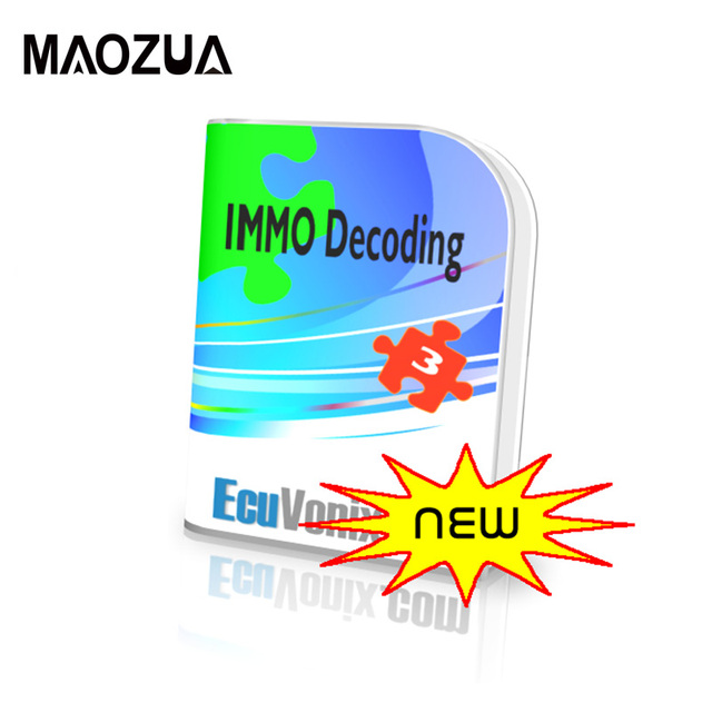 EcuVonix 3.2 IMMO Universal Decoding 3.2 Remove IMMO Code of ECU with Keygen for Unlimited Install on Many PC Free Shipping