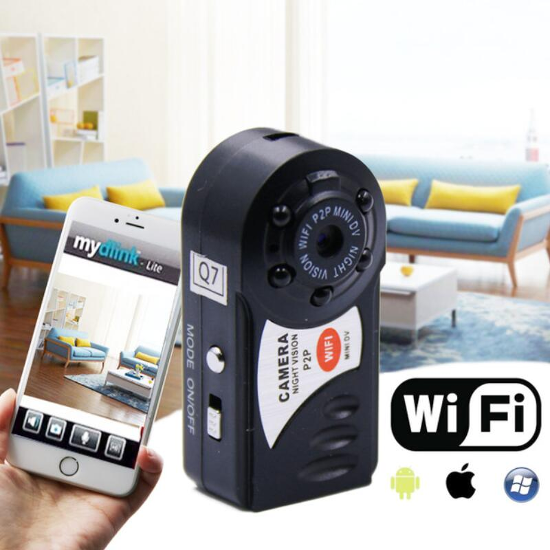 Q7 Mini Wifi DVR Video Camera Recorder Wireless Wi-fi IP Camcorder Night Vision Camera with microphone