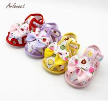 ARLONEET baby boy shoes fashion baby shoes Soft baby girl shoes first walker Summer Sole Toddler Anti-slip Shoes JA5(China)