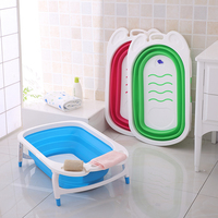 En71 baby care products, foldable baby bath tubs