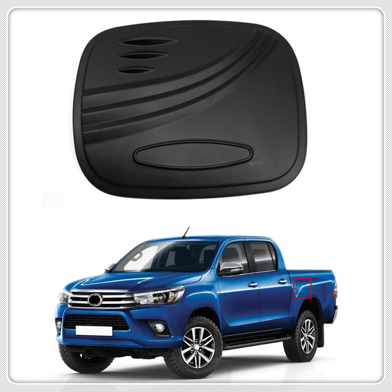 TOYOTA HILUX REVO 2015-2017 CHROME FUEL OIL TANK CAP DOOR COVER