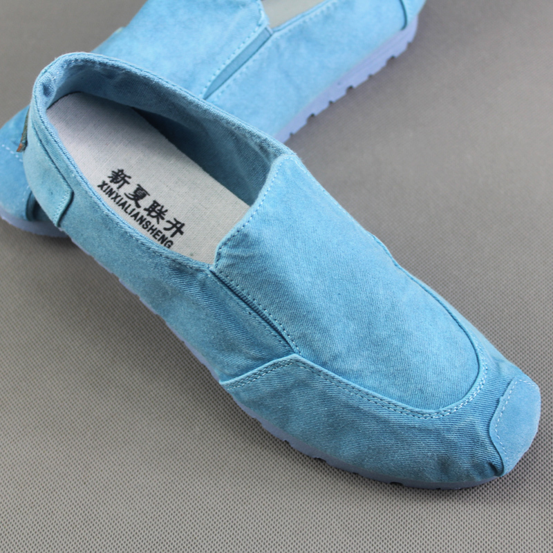 2019 Summer New Style Women's Singles Shoes Old Beijing Cloth Shoes Denim Canvas Shoes +Pure Hand Embroidered Insole HOT HOT