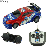 Niosung High Speed Mini RC Toy Car 4 Wheel Drive Remote Control Car Speed Drift Best