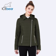 ICEbear 2018 new lapel women casual jacket fashion woman coats high quality warm comfortable spring women