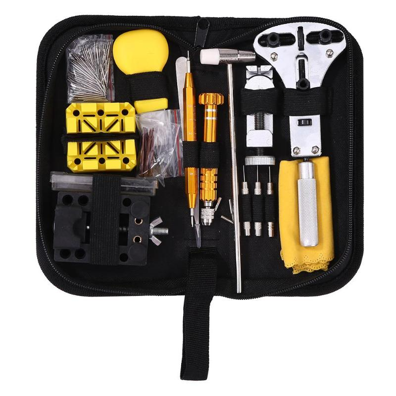 149pcs Watchmaker Watch Link Pin Remover Case Opener Repair Tool Kit Set Remover Spring Bar Repair Pry Screwdriver Dropshipping