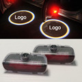 Pair of LED welcome light Door Courtesy Ghost Shadow Lights Logo Projector No Drilling Fit For Porsche Cayenne 958 911