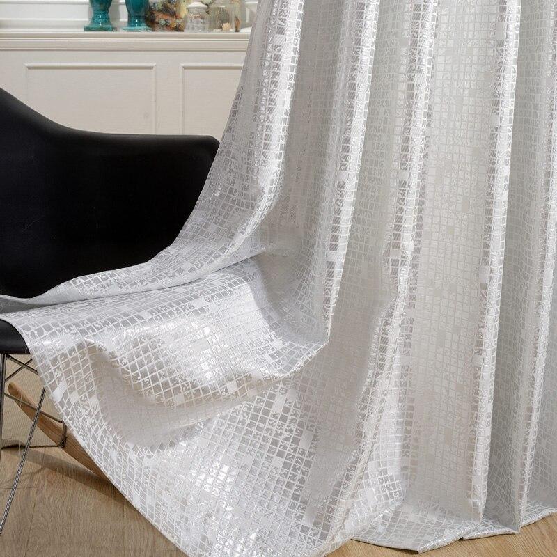 Achetez en gros blanc court rideaux en ligne des for Rideaux courts fenetres