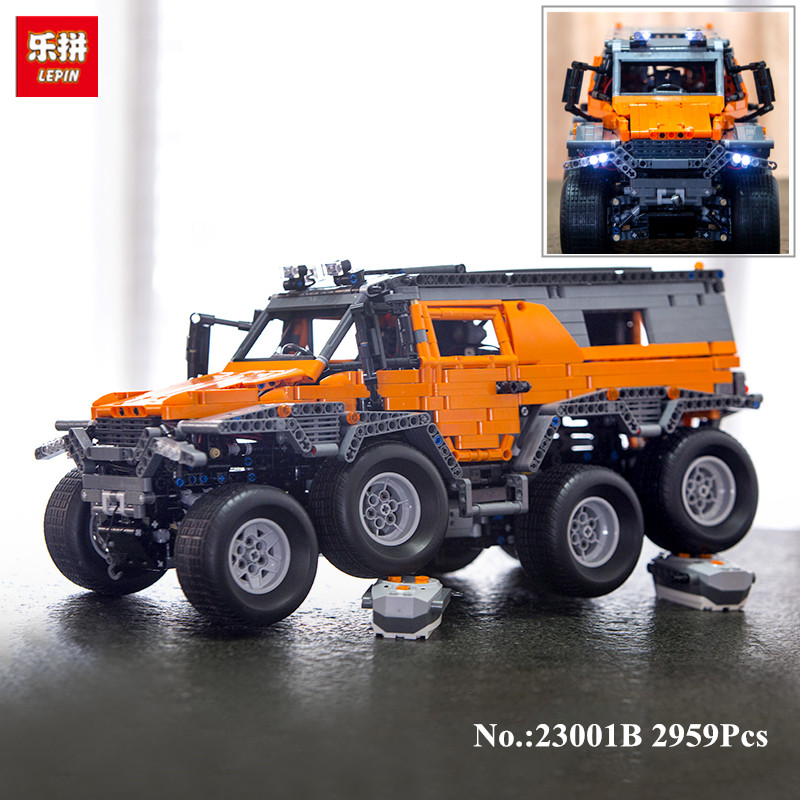 In-Stock  LEPIN 23011B 2816Pcs New  Series Off-road vehicle Model 23011B Educational Building Kits Block Bricks Compatible Toys new in stock ve j62 iy vi j62 iy