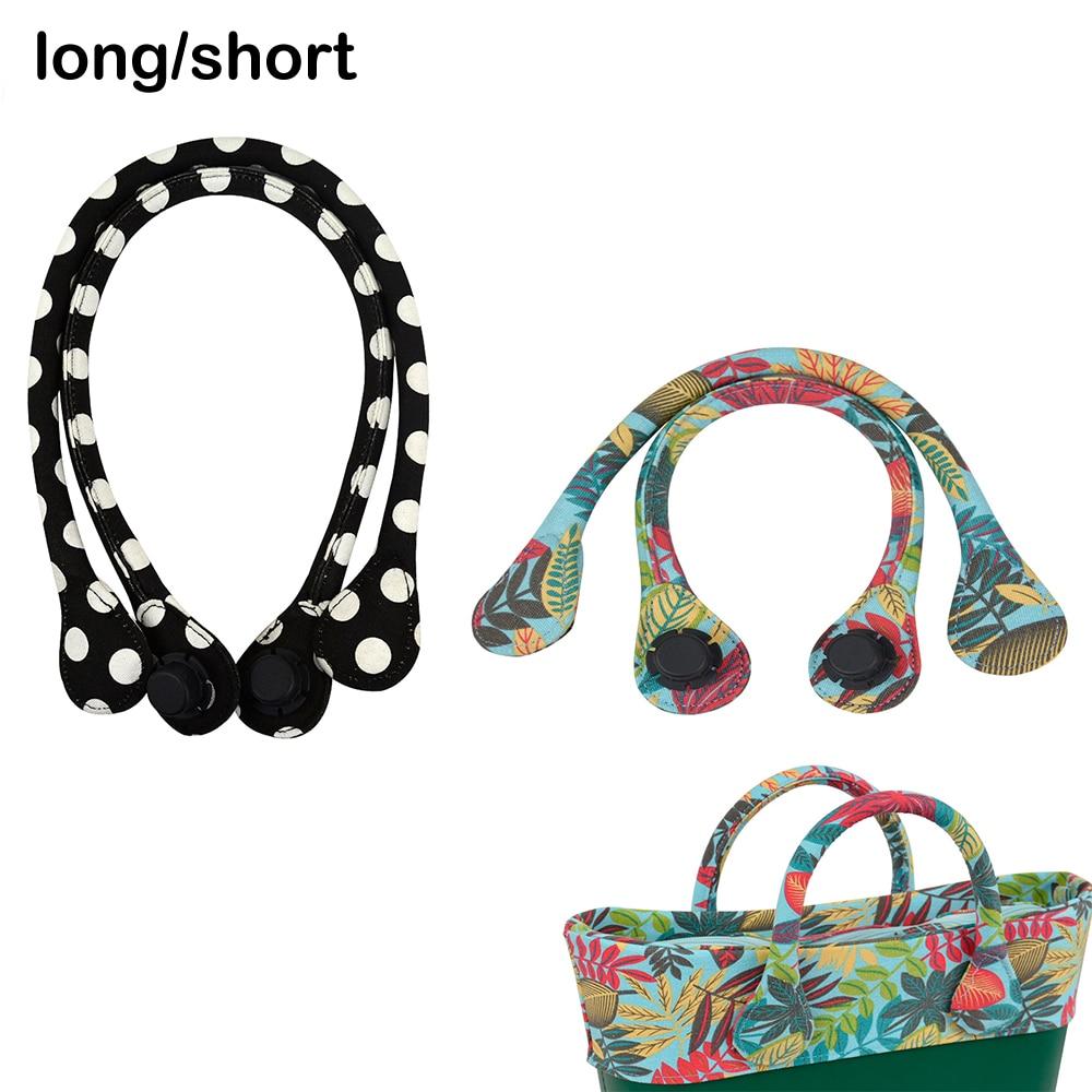 Short Long Round Canvas Fabric Handle For Obag Classic Mini O Bag Women's Bags Shoulder Handbag