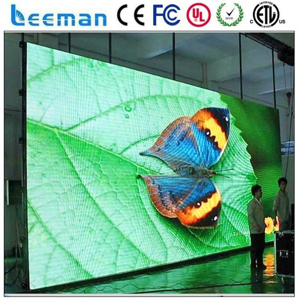 Leeman P1 914 HD P2 5 Indoor Full Color Programmable LED Message Sign Small Pixel LED