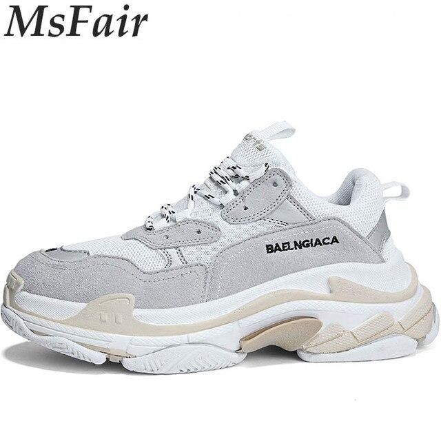 d47607a4c5962 MSFAIR 2018 hombres de los zapatos corrientes al aire libre Athletic hombre mujer  marca zapatos deportivos