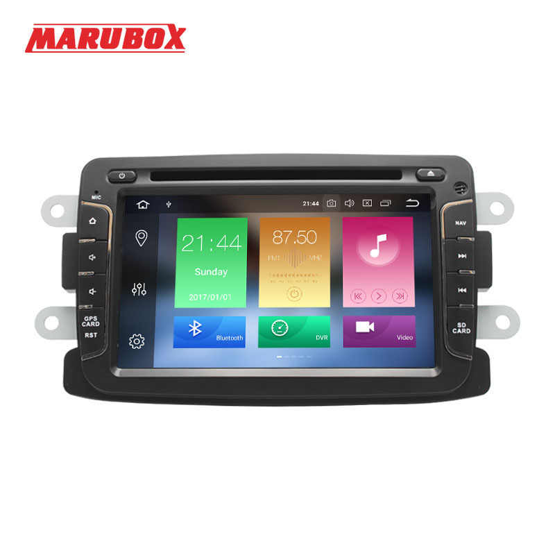 MARUBOX 1Din 8.0 Android Para Renault Duster 2010-2015, Logan, sandero GPS Navi DVD Rádio Stereo Car Multimedia Player 7A602PX5