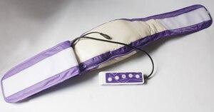 Image 5 - Cinto elétrico de massagem, cinto de emagrecimento para queima de gordura, modelador de lente com motores vibratórios, frete grátis