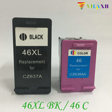 For HP 46 Ink Cartridge For HP 46xl DeskJet 2020hc 2025hc 2520hc 2029 2529 4729 Printer hp deskjet ink advantage ultra 4729