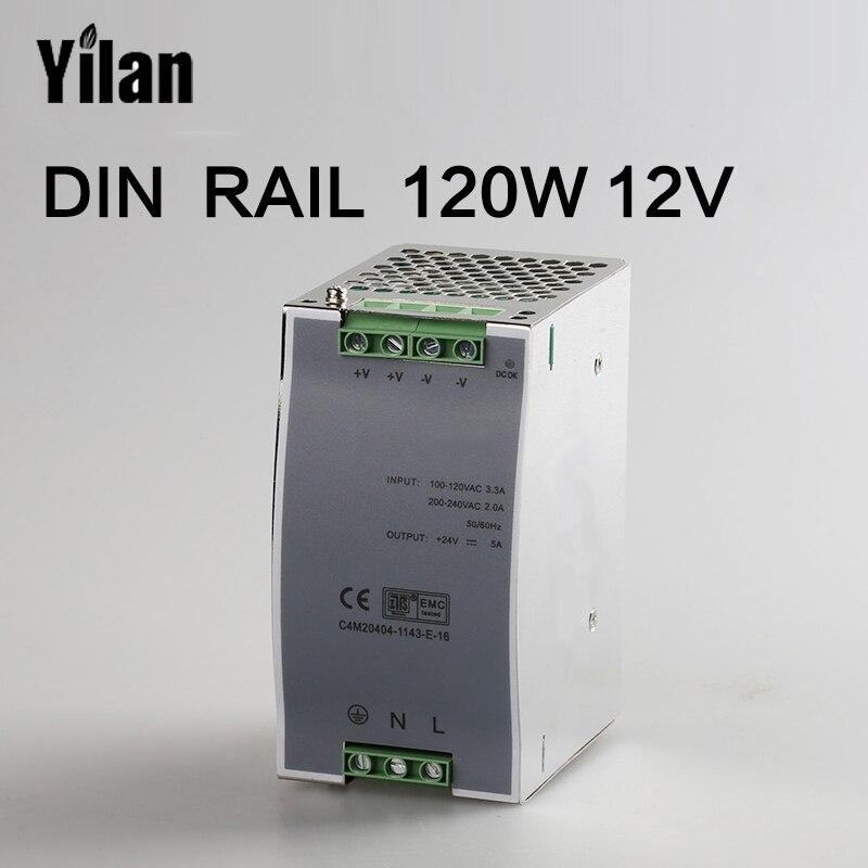 120W 12V Din Rail Single Output Switching power supply DR-120-12 минипечь gefest пгэ 120 пгэ 120