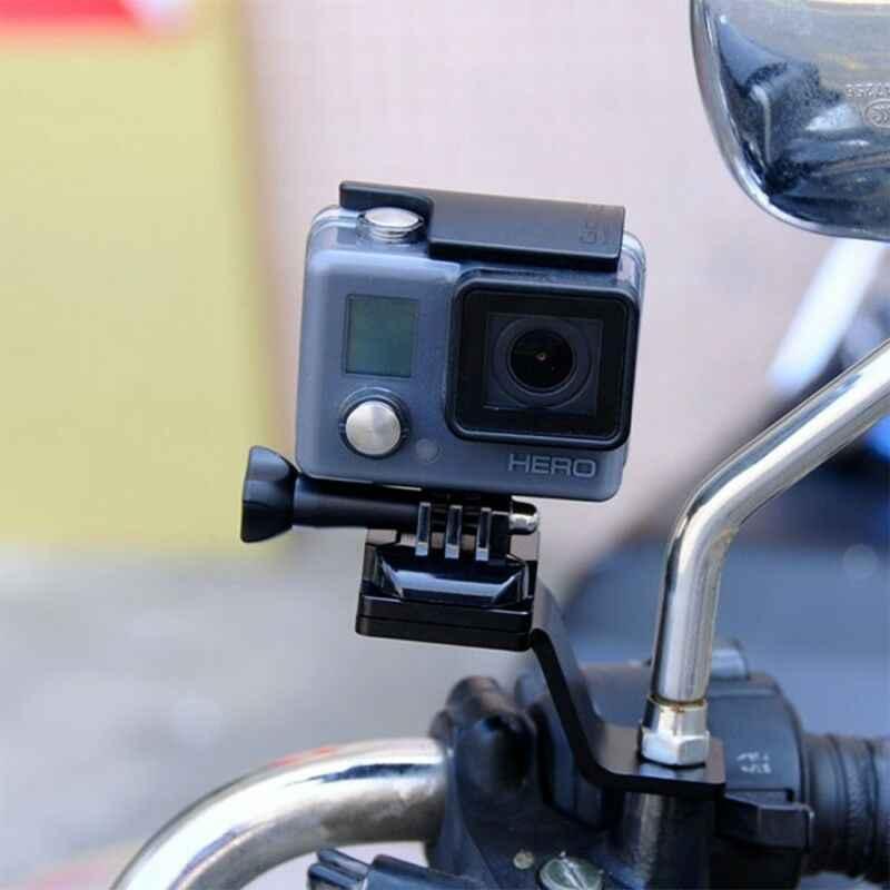 PULUZ металлический мотоцикл держатель с креплением крепление для экшн-Камеры GoPro HERO 7 6 5 Session 5 4 3 2 1