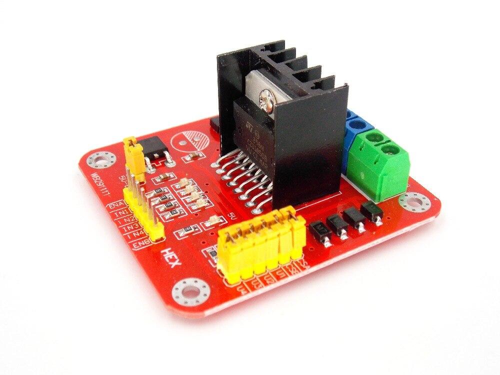 L298 Module L298N Dual Bridge DC stepper Controller ...