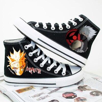 Naruto Canvas Printed Shoes