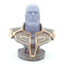 Avengers:Infinity War Supervillain Thanos Sculptures Bust PVC Action Figure Collection Super villain Model ET40 avengers infinity war guardians of the galaxy supervillain thanos large scale supervillain pvc action figure model toy g1109