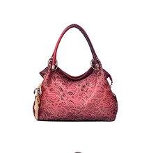 Hollow Women bag high quality leather handbag flower lace hollow tote bags women shoulder bag famous designer ladies handbags