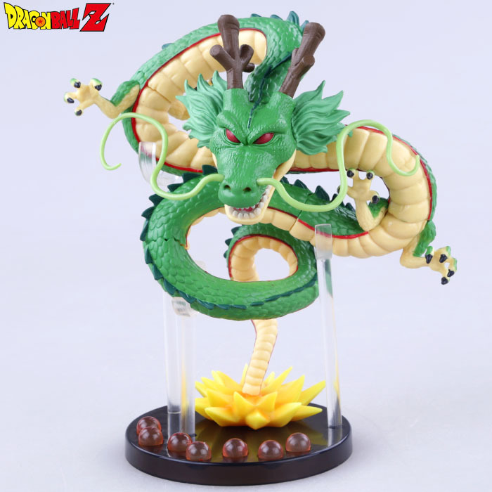 Free Shipping Anime Cartoon Dragon Ball Z 615cm ShenRon ShenLong PVC Action Figure Model Toy j g chen anime cartoon dragon ball z shenron shenlong gold pvc action figure collectible model toy free shipping