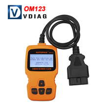 2016 Multi-language AUTOPHIX OBDMATE OM123 OBD2 EOBD CAN Hand-held Code Reader
