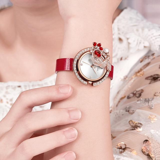 MEGIR Luxury DIY Women Watches Top Brand Luxury Quartz Women Bracelet Watch Clock Reloj Mujer Relogio 2018 Feminino Montre Femme 4