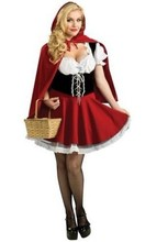 Ensen Little Red Riding Hood role play Halloween performance costume font b cosplay b font Ladies