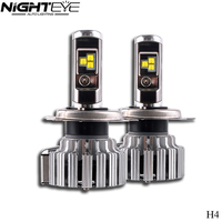 80w/pair Cree Chip H4 H13 9004 9006 Car Led Headlights H7 9005 H11 H1 H3 Auto Leds Headlight Bulb 9000lm 12v Automotive Car Lamp