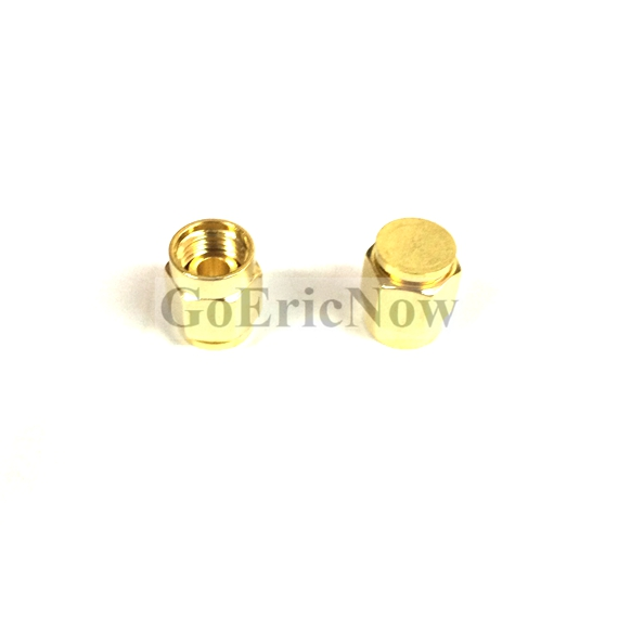 Persevering 10 Pcs /lot Rf Connector Gold Plated Sma Dust Cap Without Chain Sma Metal Protective Cap Connector Plug Connectors