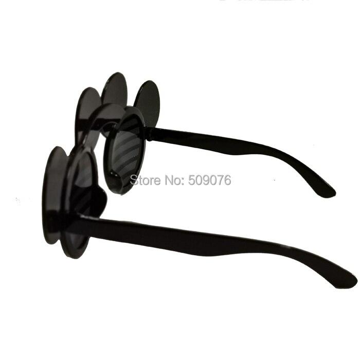 2pcs/lot Fashion Trend Retro Sunglasses Mickey Mouse Glasses Novelty Fun Eye Wear Party Favors