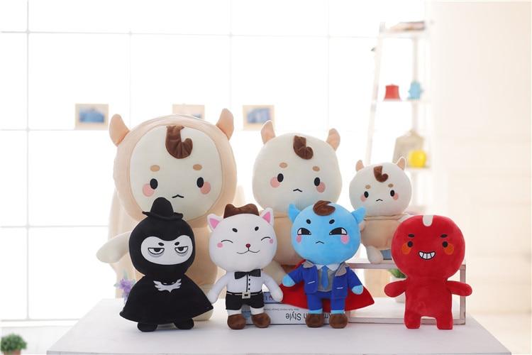 New 25-35CM Korea Dokkaebi God Alone And Brilliant Goblin Soft Doll Stuffed Plush Animal Toy Baby Girl Kids Children Lover Gifts