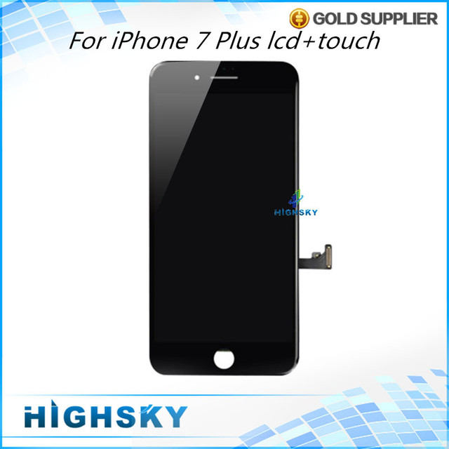 New Arrival 3 pcs/lot Display For iPhone 7 plus LCD A1661 With Touch Screen Digitizer + Frame AAA Quality Free DHL EMS