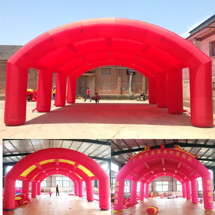Giant 12m Inflatable Booth Tent for Advertising / Exhibition / Events Decoration david booth display advertising an hour a day