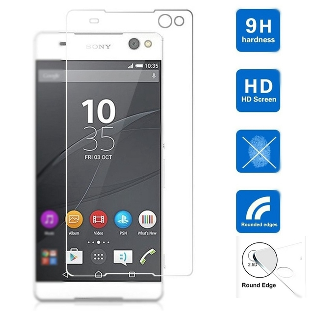 Tempered glass for Sony Xperia Z1 Z2 Z3 Z5 Compact M2 M4 M5 Aqua C3 C4 mini pro Screen Protector Protective Film