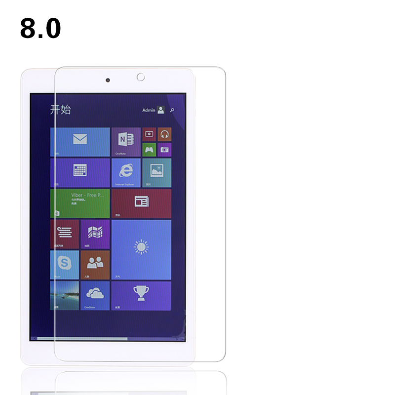 High clear Tempered Glass film for Teclast X80h 8 0 inch font b Tablet b font
