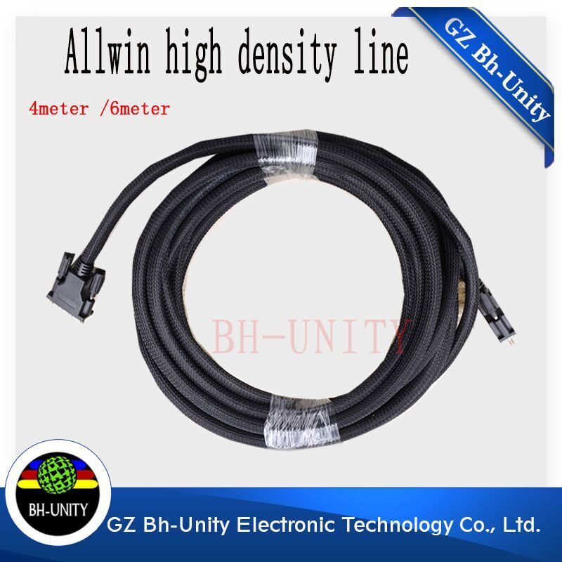 Best price !!Allwin printer 14pin PCI 4meter high density cable /cable /signal wire for human /gongzheng / digital printer цена 2017