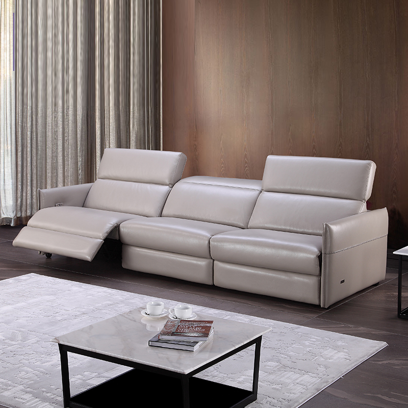 Cheap Genuine Leather Sectional Sofa: Aliexpress.com : Buy Living Room Sofa Set 3 Seater Real
