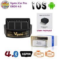 Vgate iCar Pro OBD II Scanner Bluetooth 4.0 WIFI For Android/IOS wi fi Car Diagnostic Tool ELM327 V2.1 easydiag scanner