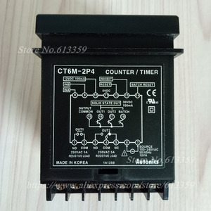 Image 5 - CT6M 2P4 ( CT6 2P) 100 240VAC(50 60Hz) новый оригинальный Оригинальный Многофункциональный таймер