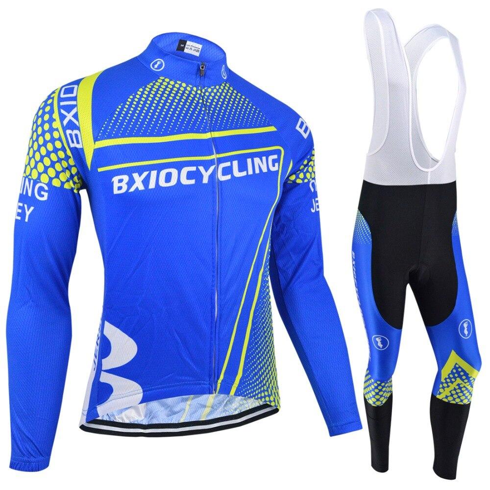 ФОТО BXIO Invierno Ropa Ciclismo Hombre Winter Bike Jersey Long Sleeve Autumn Cycling Jerseys Pro Thermal Fleece Cycling Clothes 143