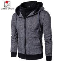 John S Bakery 2017 New Fashion Hoodies Brand Men Fake Two Sweatshirt Male Hoody Autumn Winter