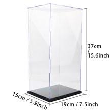 Acrylic Display Case For Models Toy Removable Assembling Showing Box Collectibles Countertop Anime Figure Protection Boys Toys(China)