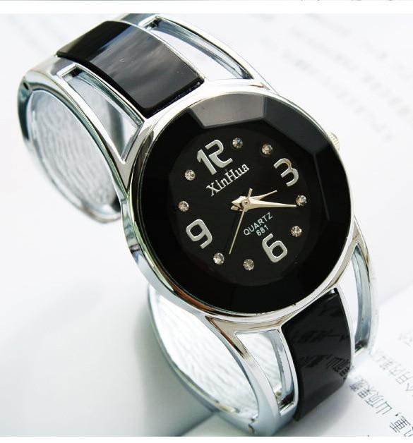New Design Luxury Wrist Watch Women Rhinestone Bracelet ...