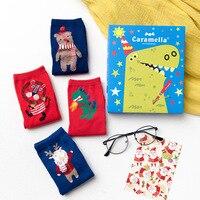 Cadeau Boîte 4 Paires Lot Multicolore Chaussettes Femmes Marque Style Qualité Coton Chaussette En Gros Accessoires D'hiver Nouvelle Arrivée