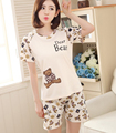 7 Styles ,2 Pieces Suits Short Sleeve Women Girl Sleepwear Pajamas Sets Homewear Home Suits Cute Pijama Pyjama SQ88