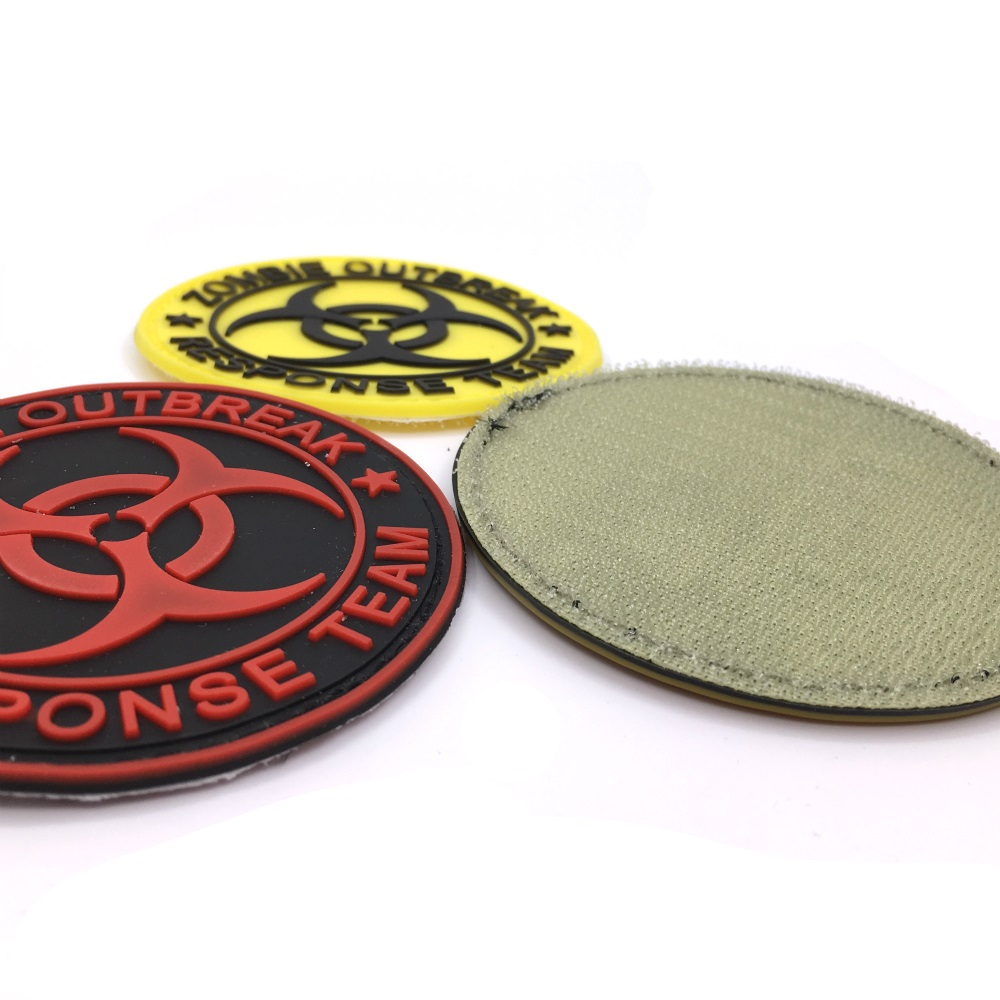 Nice Resident Evil Series Umbrella Corporation Pvc Badge Rubber Badges 3d Patch Applique For Clothing Cap Accessories Badges Arts,crafts & Sewing