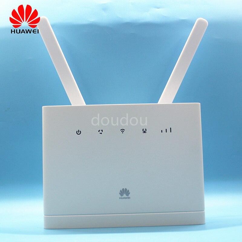 Débloqué nouveau HUAWEI B315 B315S-608 avec antenne 4G LTE CPE 150 Mbps 4G LTE FDD passerelle sans fil Wifi routeur PK B310 B593 E5186